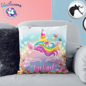 Personalized 3D Unicorn Pillow