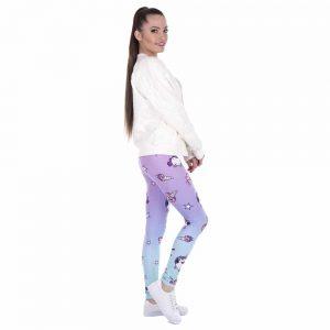 Unicorn And Sweets Printing Women Leggings Woman Pants