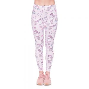 Unicorns World Printing Women Legging Woman Pants