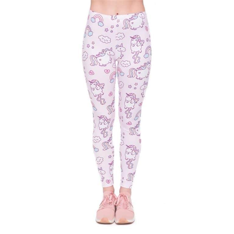 Unicorns World Printing Women Legging Woman Pants
