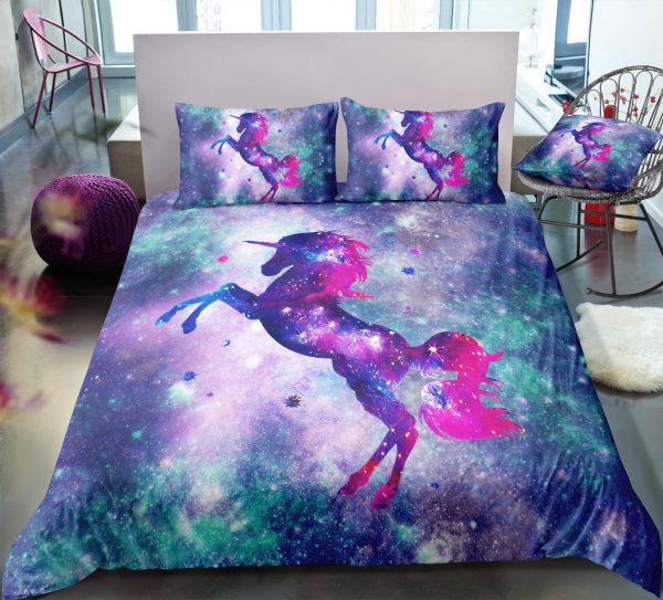 Cosmos Unicorn Bedding Set