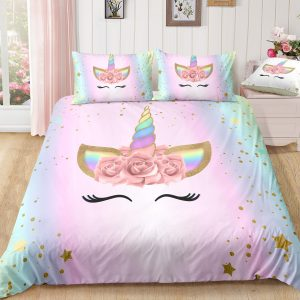 Dreaming Star Unicorn Bedding Set