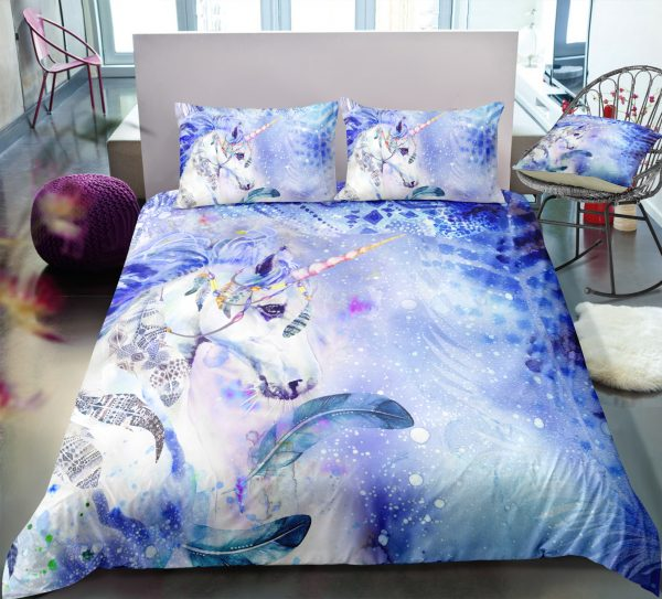 Frozen Unicorn Bedding Set