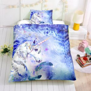 Frozen Unicorn Bedding Set