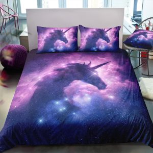 Galaxy Unicorn Bedding Set