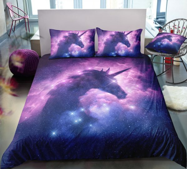 Galaxy Unicorn Bedding Set
