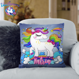 Personalized 3D Unicorn Pillow