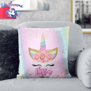 Personalized Unicorn Lash Pillow