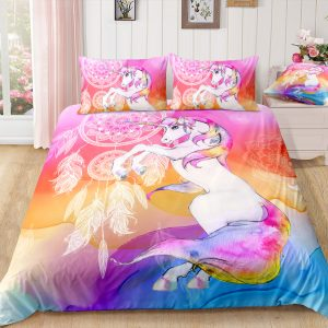 Unicorn Dreamcatcher Bedding Set