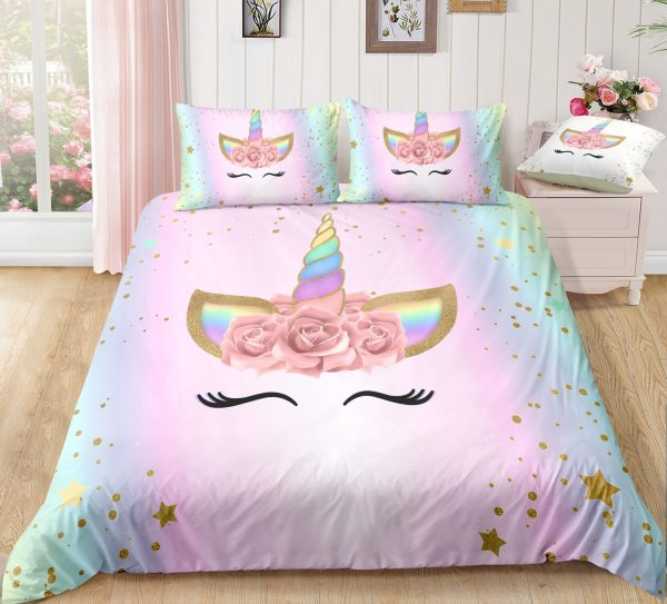 Unicorn Lash Bedding Set