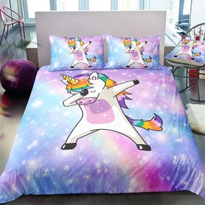 Unicorn Dab Bedding Set