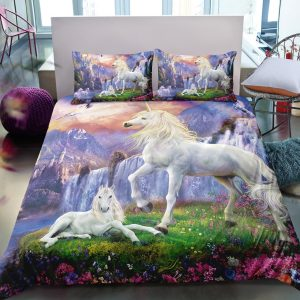 Unicorn in Wonderland Bedding Set