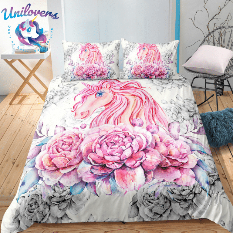 Magical Cloudy Unicorn Bedding Set