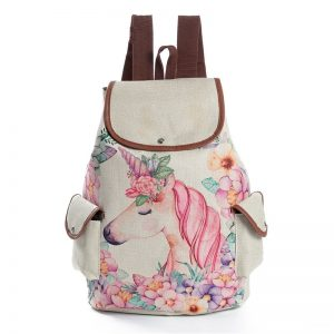 Fresh Design Unicorn Printing Backpacks