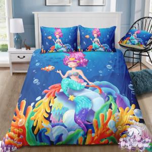 Adorable Mermaid Bedding Set