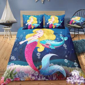 Mermaid Queen Bedding Set