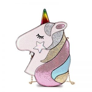Fashion Unicorn Design Shoulder Bag Crossbody Mini Bag