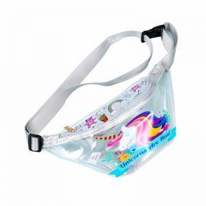 Unicorn Women Transparent Waist Bag