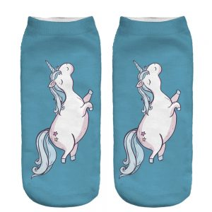 3D Printing Aqua Unicorn Socks