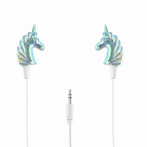 Glitter Unicorn 3.5 mm Earphone Earbuds