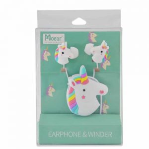 Cute 3.5mm Cartoon Unicorn Earphones