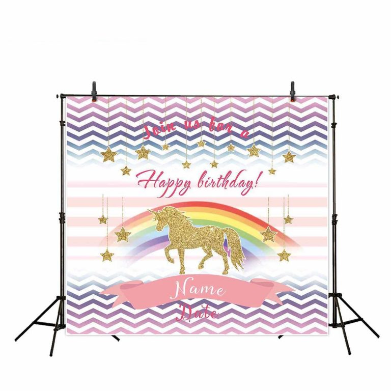 Unicorn Photography Backdrop