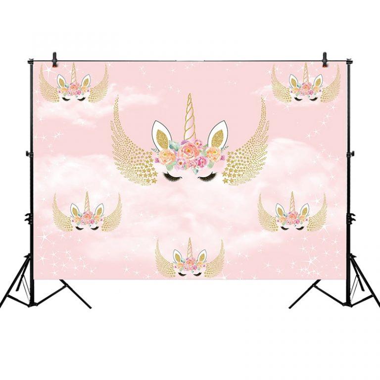 Unicorn Decor Backdrop for Photography