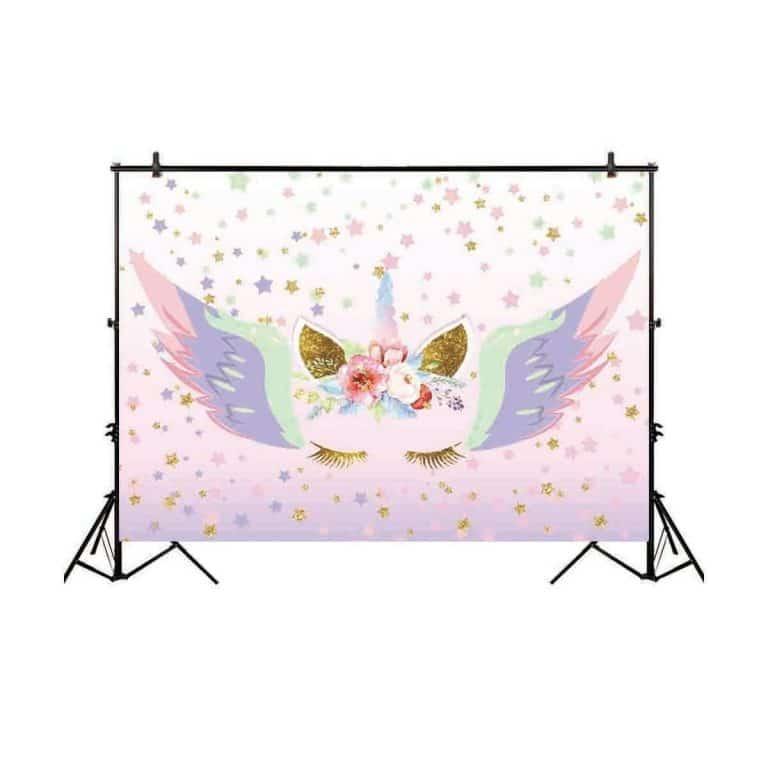 Unicorn Backdrop for Photographic