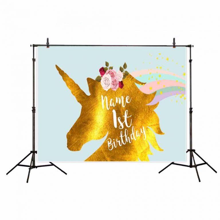 Unicorn Backgrounds for Photography Studio