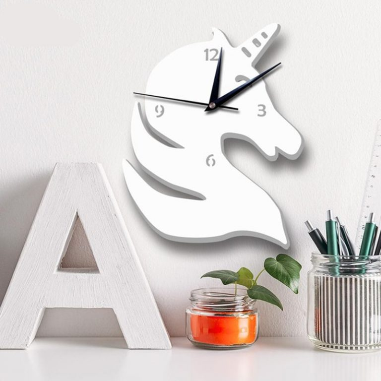 Unicorn Wall Clocks