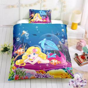 Baby Mermaid Bedding Set