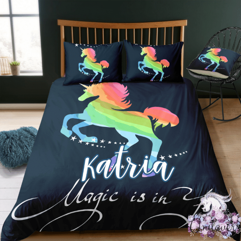 Personalized Magical Is In You Bedding Set