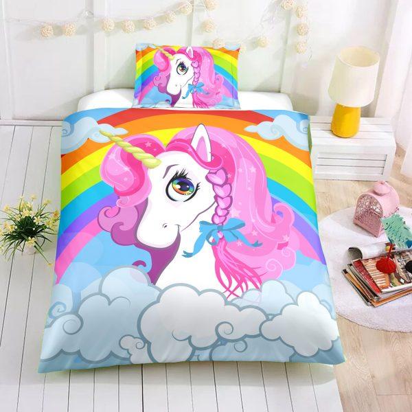 Rainbow Beloved Unicorn Bedding Set