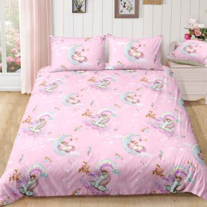 Unicorn Moon Bedding Set