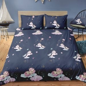 Unicorn Night Bedding Set