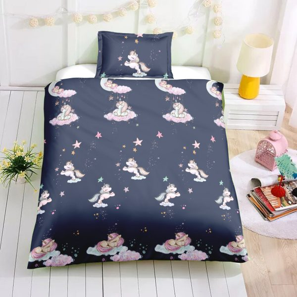 Unicorn Night Bedding Set