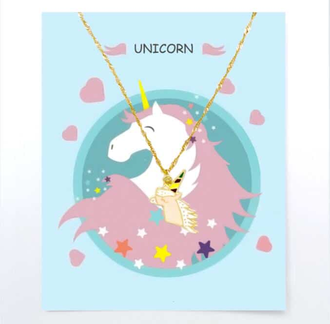 Unicorn Necklace For Children