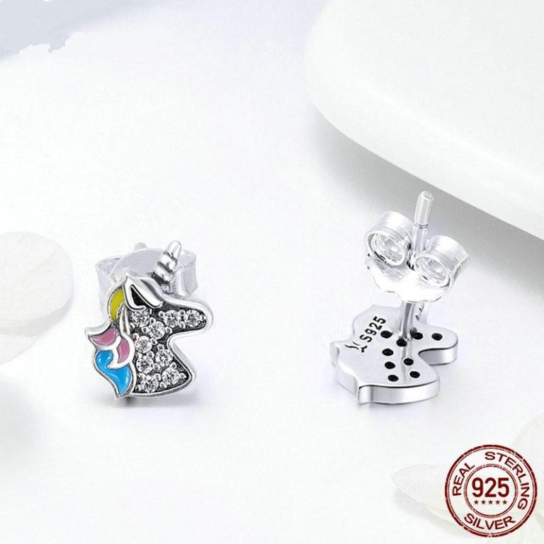 Unicorn Memory Stud Earrings