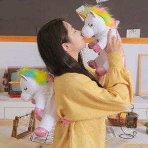 Unicorn Plush Toy Backpack