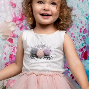 Unicorn Summer Girl Pink Dress