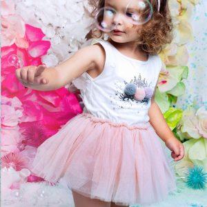 Unicorn Summer Girl Pink Dress