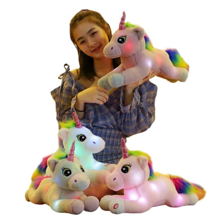 50cm Led Light Luminous Unicorn Plush Toy