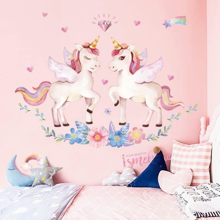Cute Unicorn Wall Stickers