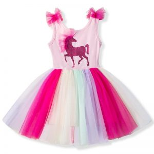 Baby Fancy Unicorn Princess Dresses