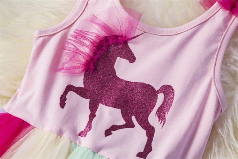 Baby Fancy Unicorn Princess Dresses