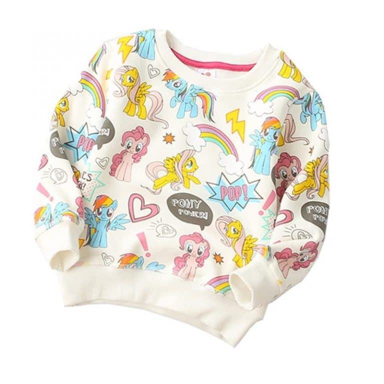 Cute Unicorn Printing Hoodie Sweatshirt