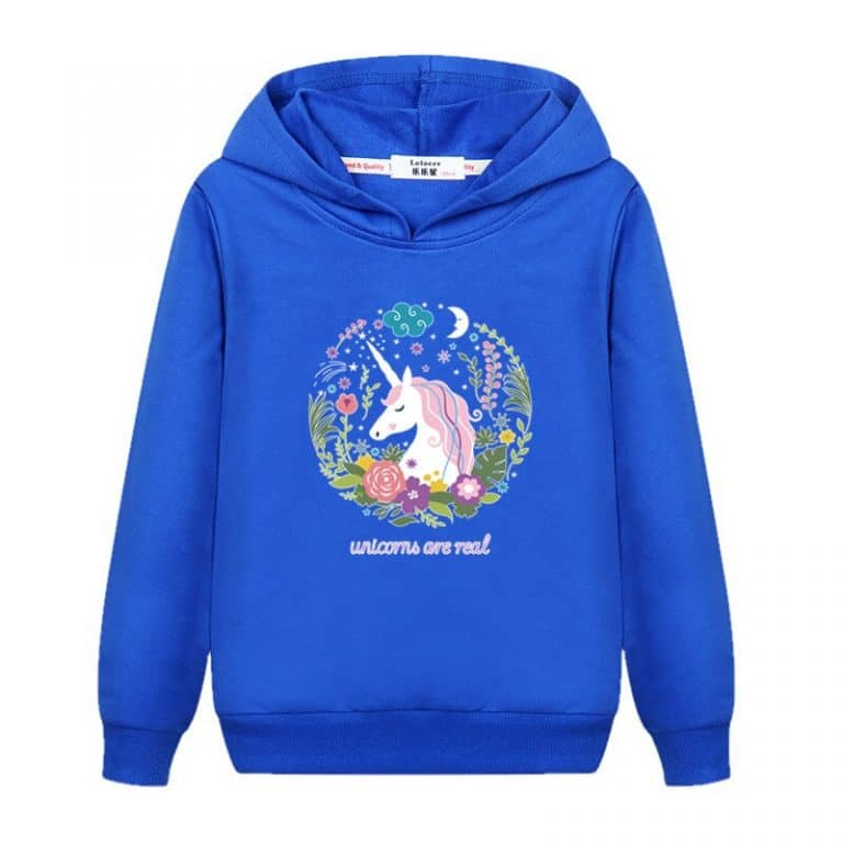 Unicorn Hoodie Pullover Sweatshirt