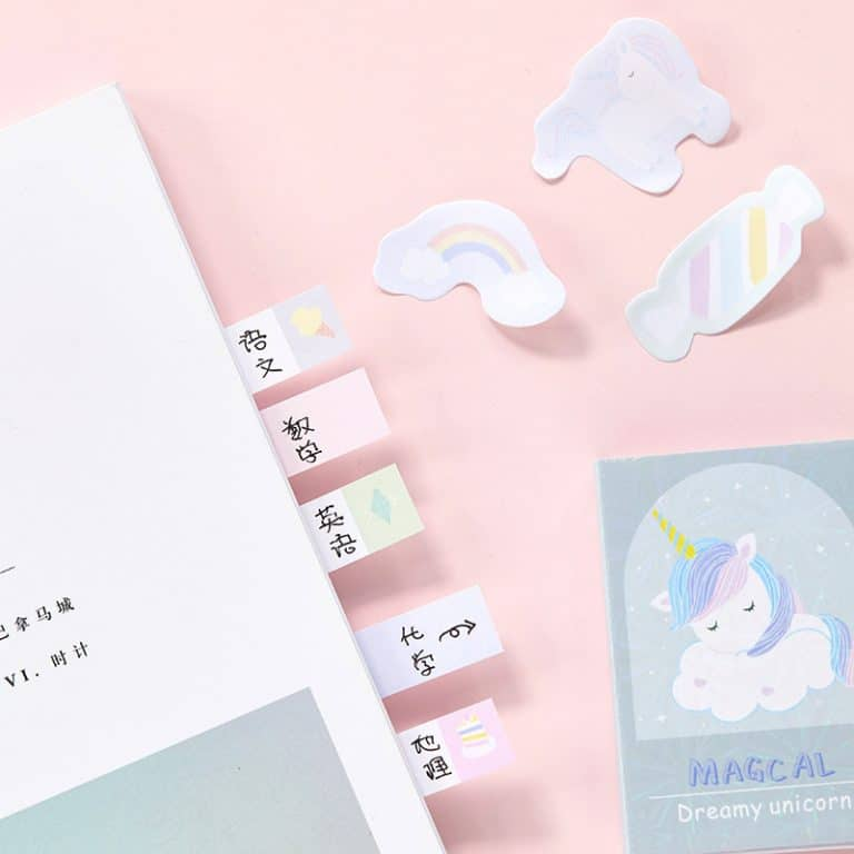 Magical Unicorn Memo Sticky Notes
