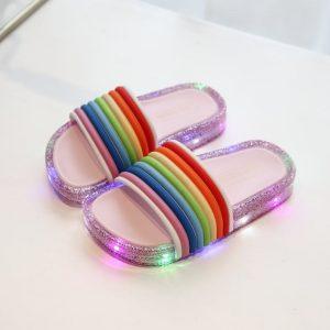 LED Flashing Lights Slippers