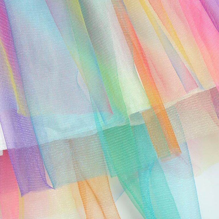 Girls Unicorn Hair Band Wings Tutu Dress
